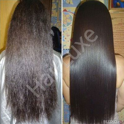 Набор кератина Happy Hair Oleo M Hairplastia 500/500/150 мл