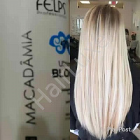 Набор кератина FELPS Macadamia Ultimate Blonde 500/500 мл (разлив)