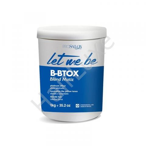 Ботокс для волос Let Me Be B-BTOX Blond Matiz 1000 мл