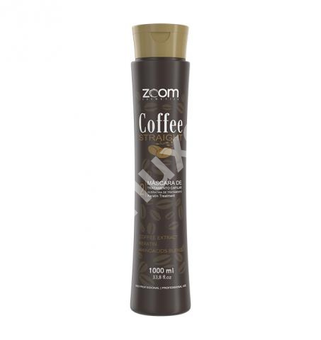 Кератин ZOOM Coffee Straight 1000 мл