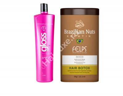 Набор ботокса FELPS Brazilian Nuts 250/300 мл