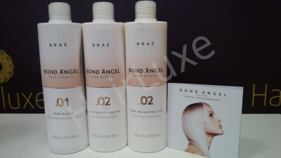 Комплект профессионала Bond Angel Plex Effect 500/500/500 мл