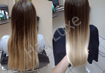 Набор ботокс синий Happy Hair B SHINE BLUE B.TTOX 500/1000 мл